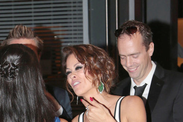 Brooke Burke Brooke Burke and David Charvet Leave the Emmys