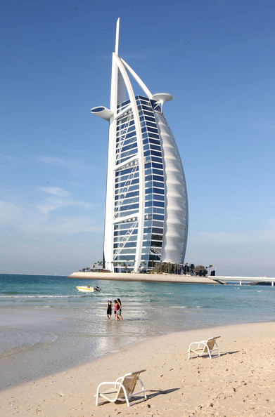 The burj al arab stunning architecture around the world for The most luxurious hotel in dubai
