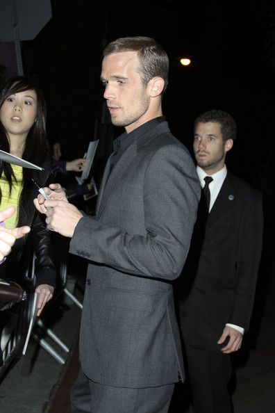 Cam Gigandet Cam Gigandet at the GQ Men of the Year awards 2010 at Chateau Marmont in LA.