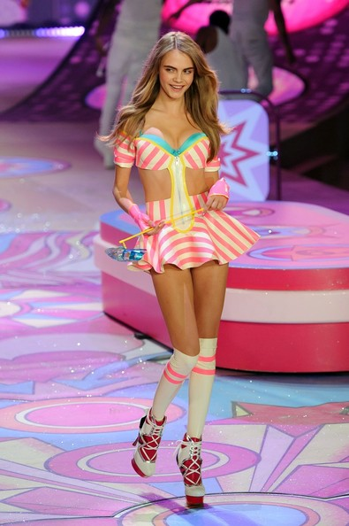 Cara Delevingne - The 2012 Victoria's Secret Fashion Show