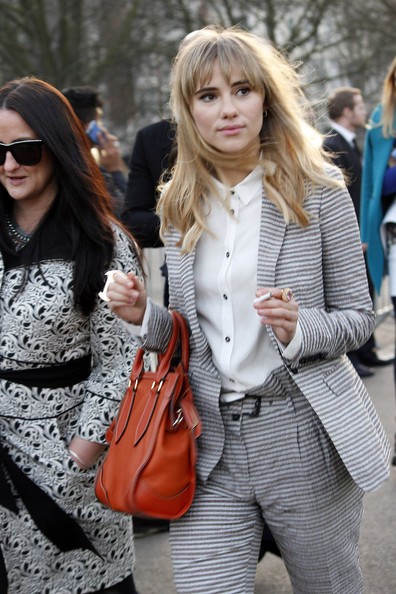 Arrivals at the Burberry Fall/Winter Show in London