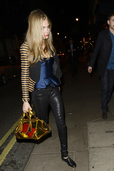 Cara Delevingne - Celebs at Harry Styles' Birthday Party