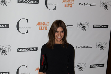 Carine Roitfield Stars at the Premiere of 'Mademoiselle C' in London