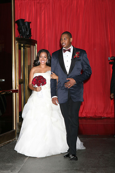 carmelo anthony married. In This Photo: Carmelo Anthony