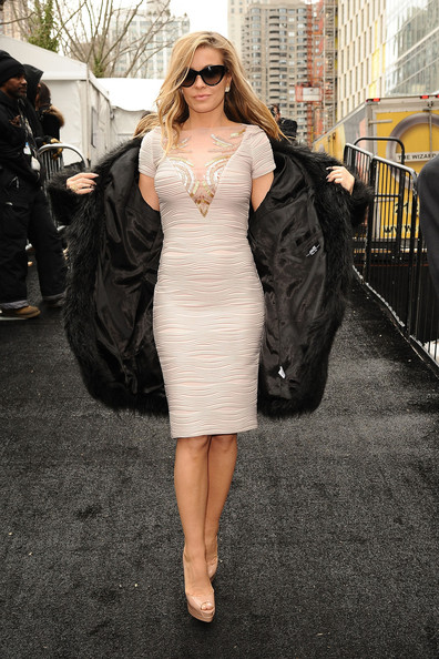 Carmen Electra Poses in NYC