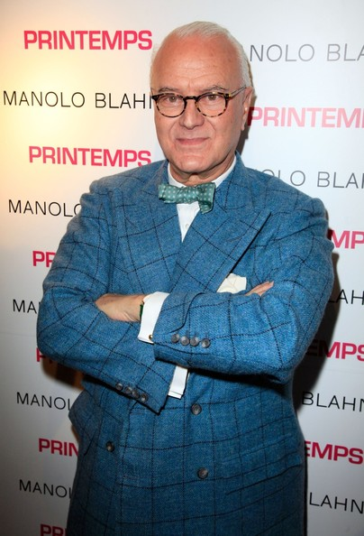 Fashion icon naver for Shoe designer manolo blahnik