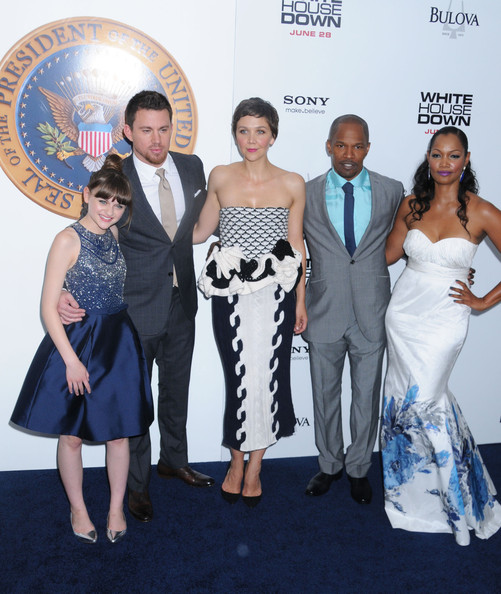 Channing Tatum And Joey King Photos Photos White House Down