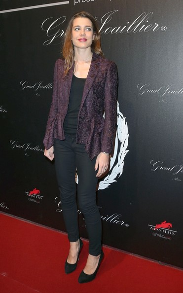 Charlotte Casiraghi - Celebs at the Gucci Paris Masters Event