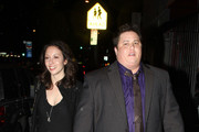 Chaz Bono and girlfriend Jennifer Elia attend an event at the Cantor Gallery with his mom, Cher. Born Chastity Bono, Chaz is currently undergoing gender reassignement.