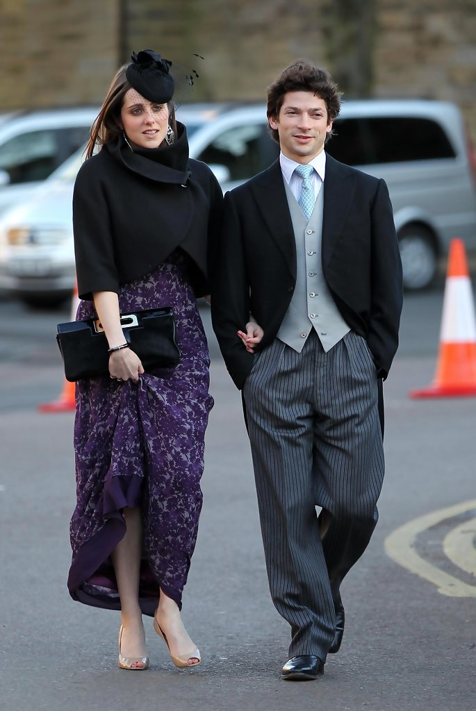 sam waleycohen in chelsey davy at katie percys wedding