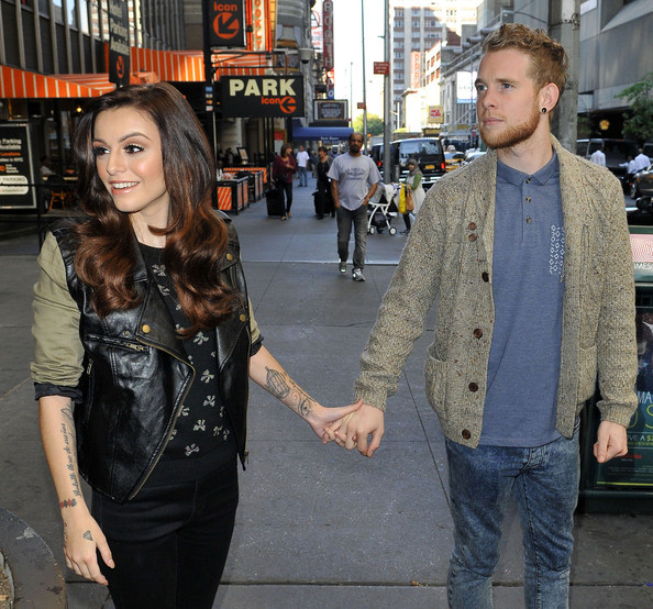 Cher Lloyd with friendly, Husband Craig Monk