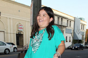"""Child star Madison de la Garza arrives at Eva Longoria's restaurant, Beso, for the """"Desperate Housewives"""" wrap party in Los Angeles."""