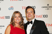Jimmy Fallon, Nancy Juvonen at TIME 100 Gala, TIME'S 100 Most Influential People In The World at Lincoln Center in New York City.