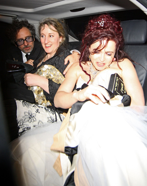 """Christopher Lee Leaving the """"Alice In Wonderland"""" Afterparty"""