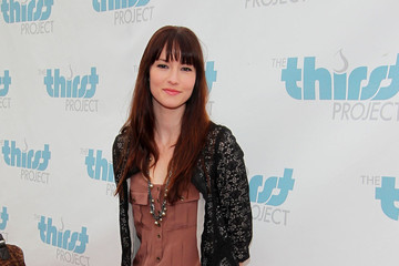 Chyler Leigh Seth Maxwell at World Water Day