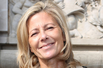 Claire Chazal PFW Arrivals at Carven