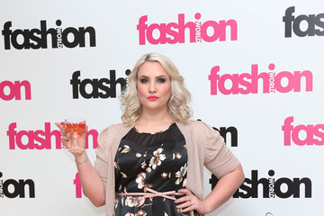 Claire Richards Claire Richards Promotes Fashion World 2
