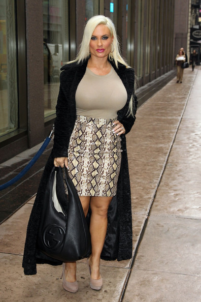 Ice Loves Coco  Star Coco Austin Arrives At Mercedes Benz Fashion