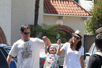 Luna Constance Marie Out Shopping