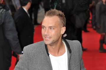 Callum Best Stars at the Premiere of 'The Dictator' in London