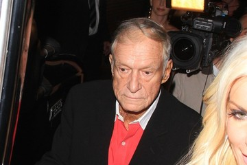 Crystal Harris Hugh Hefner and Crystal Harris Shoot 'The Playboy Club'