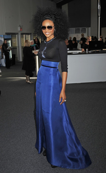 Cynthia Bailey - Stars at the Zang Toi Fall 2012 Event at Fashion Week