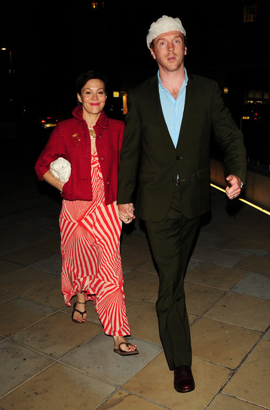 madeleine gurdon. Damian Lewis and his wife