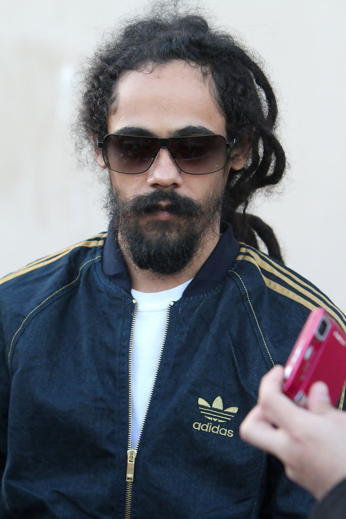 Damian Marley On The Quot Jimmy Kimmel Live Quot Show Zimbio