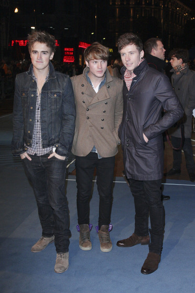 "Dougie Poynter and Danny Jones - The UK Premiere of ""Tron: Legacy"" in"