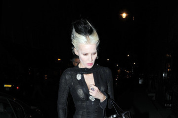Daphne Guiness Daphne Guinness Out for Dinner in London