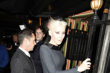 Daphne Guinness LFW: Celebrity Sightings