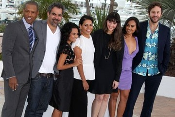 Jessica Mauboy Miranda Tapsell 'The Sapphires' Photocall in Cannes 2