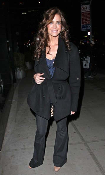 Denise Richards Life Begins at Forty!! Denise Richards celebrates her 40th birthday at Asselina restaurant in New York.