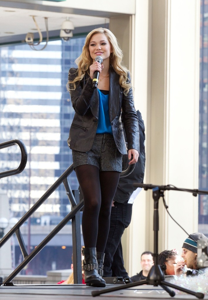 Olivia Holt in Disney actress/singer and star of 'Kickin ...