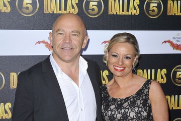 Dominic Littlewood Cynthia Cidre attending the Channel 5 'Dallas' Launch Party at Old Billingsgate Market in London