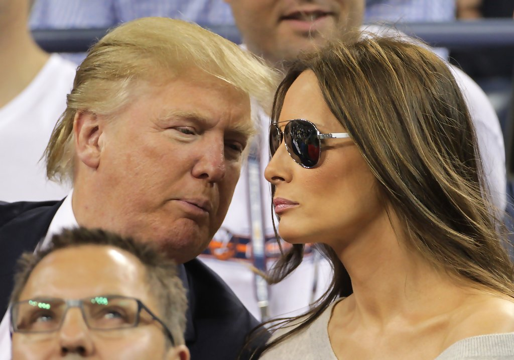 Melania Trump Photos Photos - Donald Trump and Melania ...
