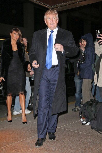 trump out in nyc in this photo donald trump melania trump donald trump ...