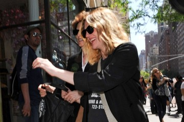 Coco Kopelman Drew Barrymore Out And About in NYC 2