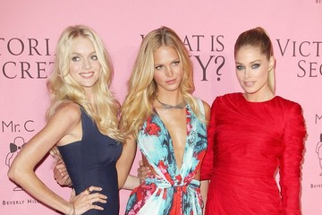 """Doutzen Kroes Erin Heatherton Stars at the Victoria's Secret """"What is Sexy"""" Party in Los Angeles"""