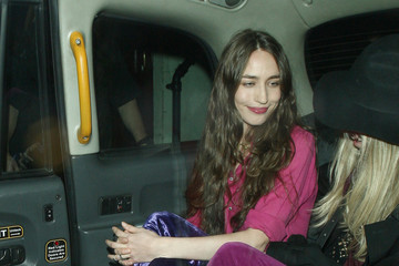 Elizabeth Jagger Celebs Leave Mick Jagger's Birthday Party