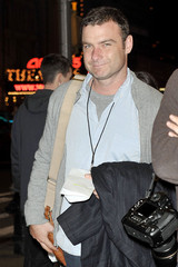 Liev Schreiber Celebrities at the American Airlines Theater