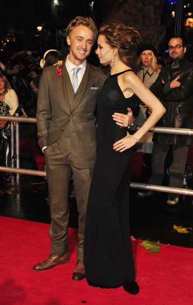 tom felton girlfriend emma watson. Tom Felton and Jade Gordon at