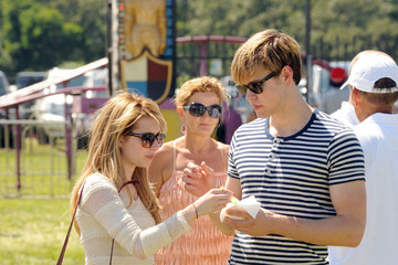 Emma Roberts Chord Overstreet Emma Roberts in the Hamptons with Chord Overstreet