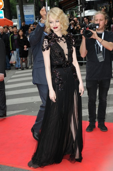 Emma Stone - Celebs at the French Premiere of 'The Amazing Spiderman'
