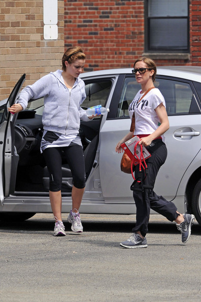 Emma Watson at the Gym