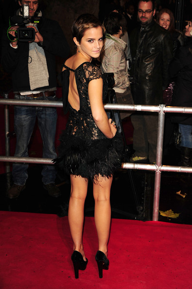 "Emma Watson Emma Watson at the ""Harry Potter And The Deathly Hallows: Part 1"" premiere held at Odeon Leicester Square in London."