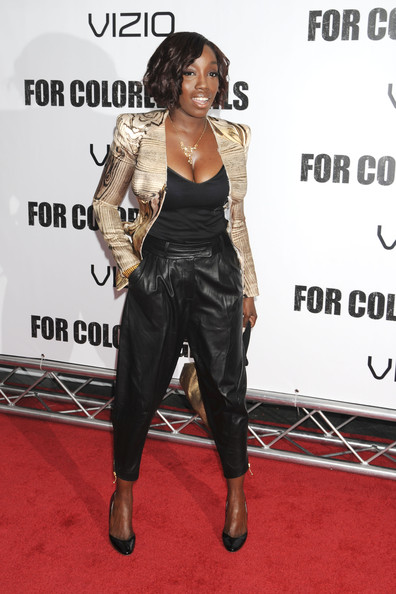 Celebrities Attend the 'For Colored Girls' Premiere in New York