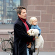 Clementine Hawke Ethan Hawke Walks with His Daughter
