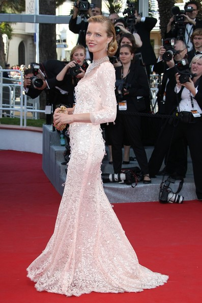 Eva Herzigova Eva Herzigova opening night of the 65th Cannes Film Festival arrives for the Moonrise Kingdom Premier at the Cannes Film Festival 2012, held at the Palais des Festivals on the famous Croisette Avenue in Cannes.