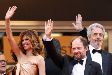 """Florence Pernel Red Carpet for the """"The Conquest"""" Premiere in Cannes"""